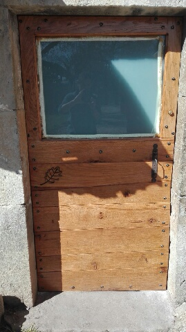 Création menuiserie sur-mesure Villefranche en Rouergue: Porte