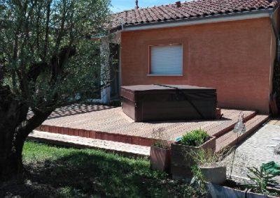 Création menuiserie sur-mesure Villefranche en Rouergue: Terrasse